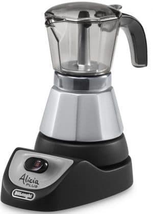 электрическая гейзерная кофеварка DeLonghi Plus EMKM 6 Alicia