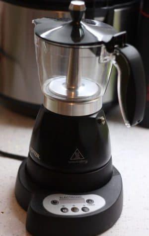 электрическая гейзерная кофеварка Hotter HX 445