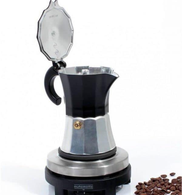 электрическая гейзерная кофеварка Rommelsbacher EKO 376/G