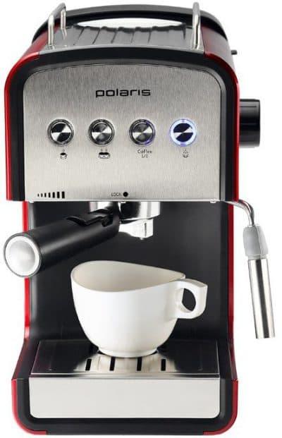 рожковая кофеварка для дома Polaris PCM 1516E