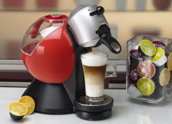 капсульная кофеварка для молотого кофе