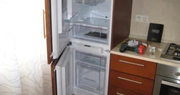 холодильник аристон двухкамерный встроенный