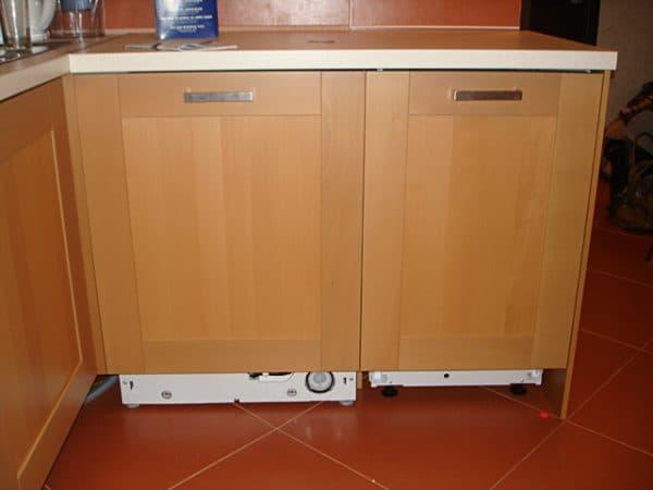фасад на посудомоечную машину из ДСП