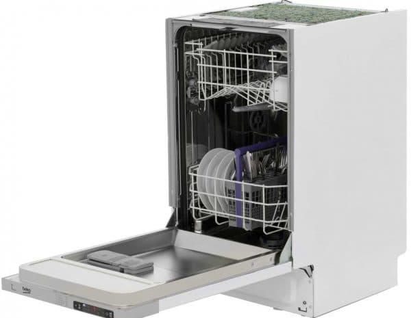 встраиваемая узкая посудомоечная машина Beko Dis 15010