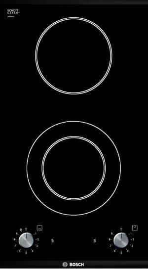 двухкомфорочная индукционная плита Bosch
