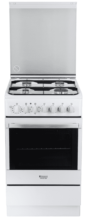 комбинированная газовая плита с электродуховкой Ariston