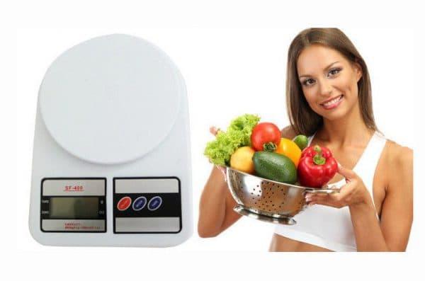 электронные кухонные весы с чашей отключение марки SF-400