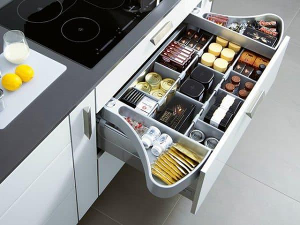 разделительные системы в виде фурнитуры для кухни