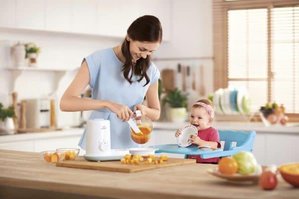 пароварка блендер для детского питания Essential scf862 02
