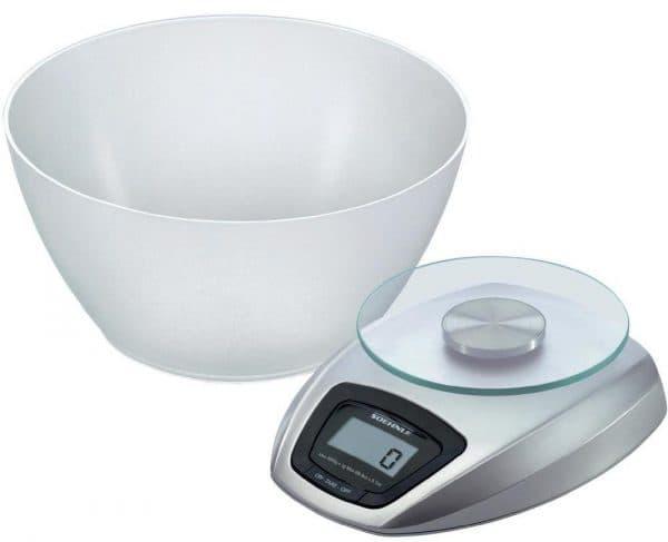 электронные кухонные весы с чашей Soehnle