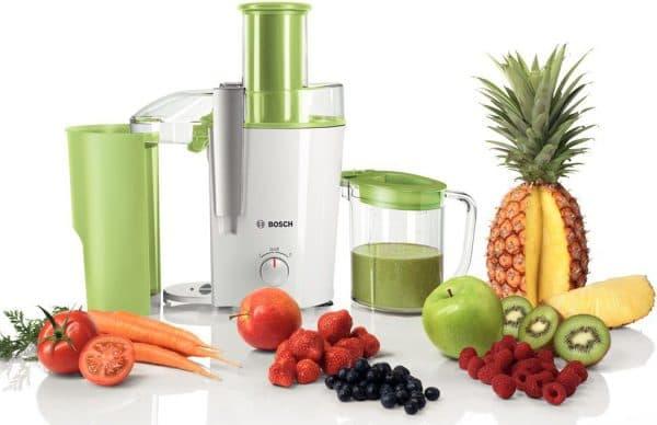 соковыжималка для твердых овощей и фруктов Bosch MES25A0