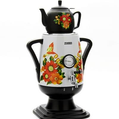 электрический самовар с заварочным чайником на 4 литра