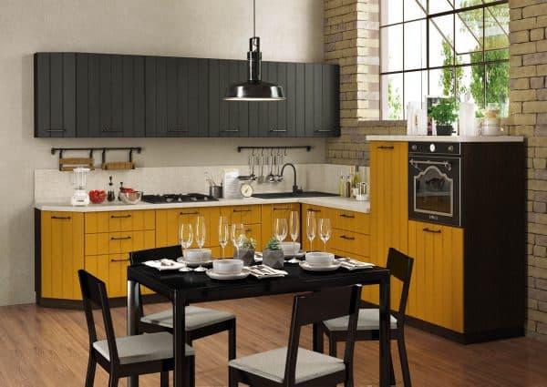 зондированный кухонный гарнитур для кухни