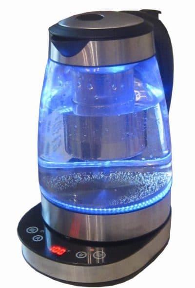 чайник электрический стеклянный с подсветкой Tefal