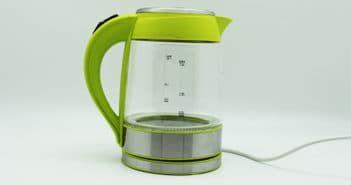 чайник электрический стеклянный с подсветкой