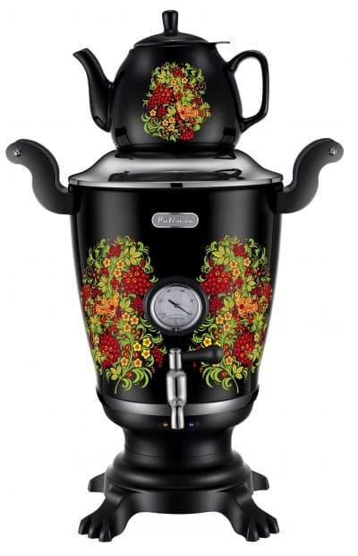 электрический самовар с заварочным чайником Marta