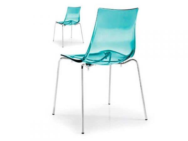 основание прозрачных стульев для кухни