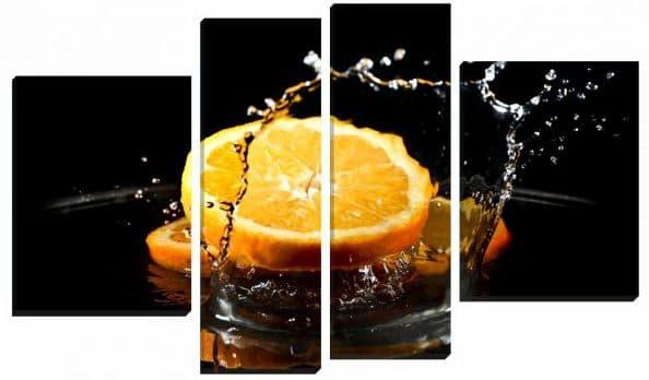 картины с модульным апельсином