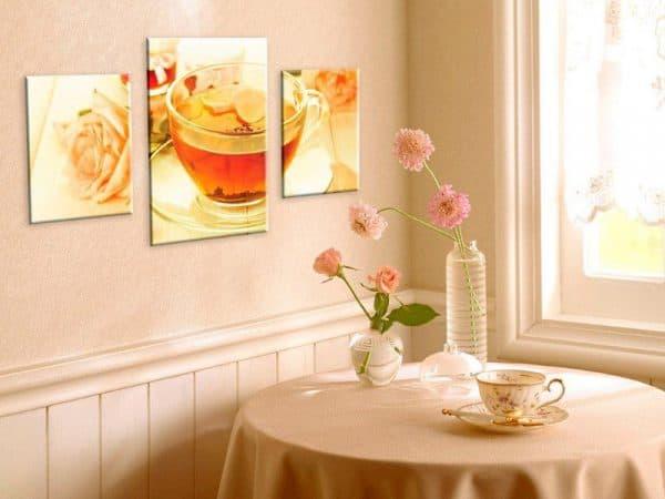 современные картины на кухню где повесить