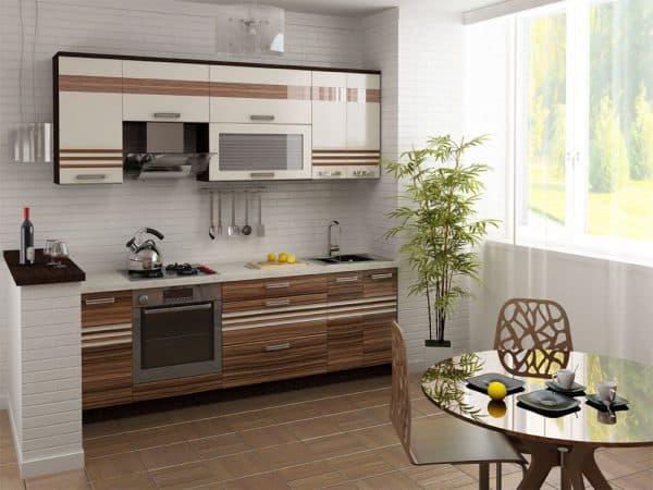 современные кухонные гарнитуры этно