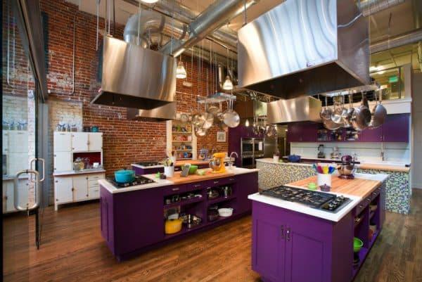 современные кухонные гарнитуры лофт