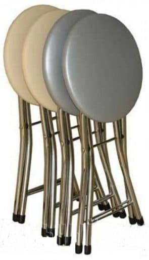 табуретка для кухни с мягким сиденьем Древпром