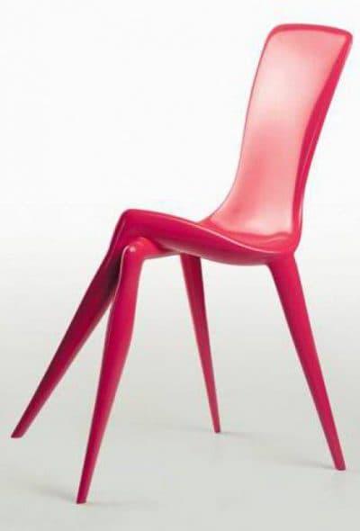 стильный стул для кухни в необычной форме