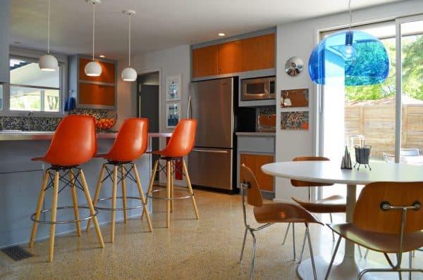 стильный стул для бара кухни