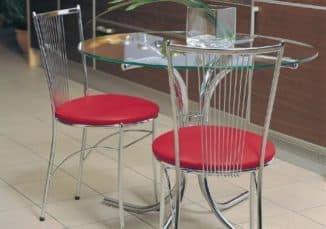 стулья с хромом для кухни