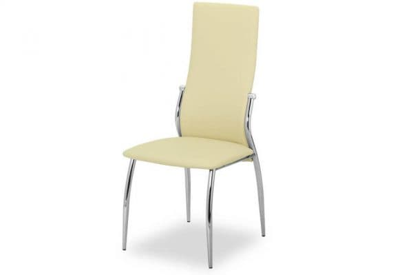 стул хромированный для кухни переход спинки в сиденье