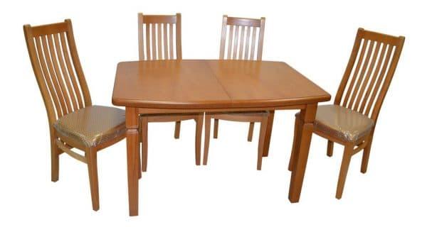 обеденный стол из массива бука