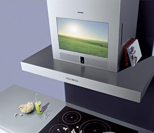 встраиваемый телевизор для кухни Samsung