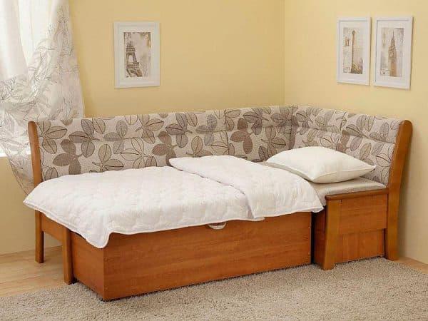 кухонный уголок со спальным местом Этюд