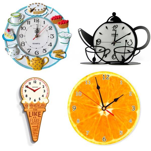дизайнерские кухонные настенные часы