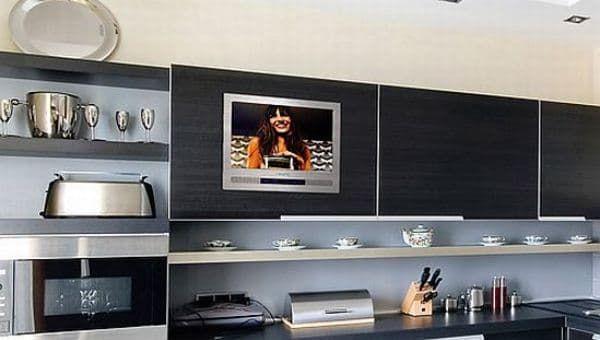 встраиваемый телевизор для кухни LG