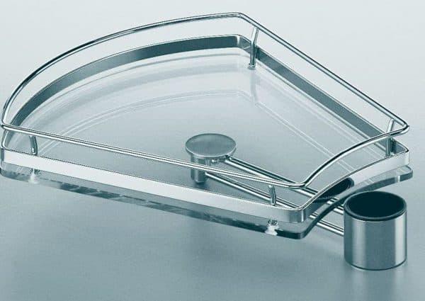 полки из стекла для рейлинга для кухни