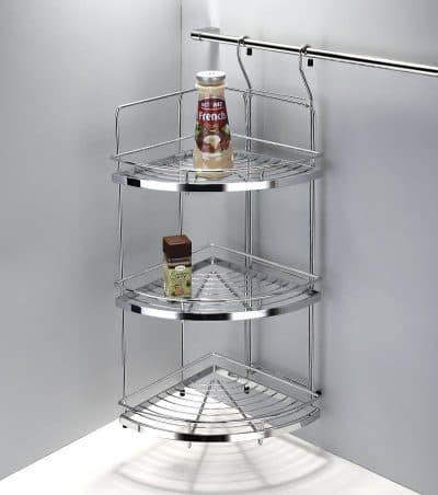 угловые полки для рейлинга для кухни