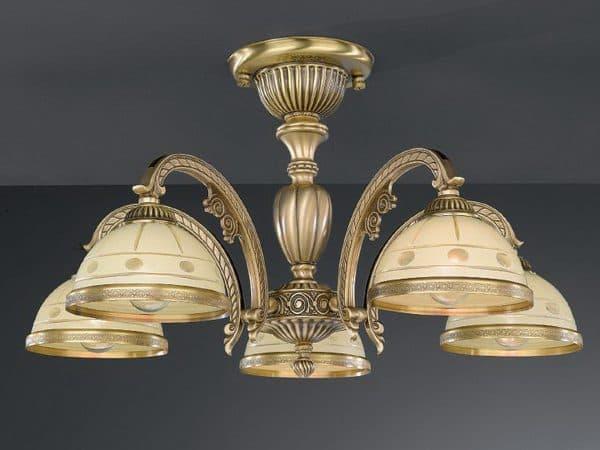 классическая потолочная люстра на кухню