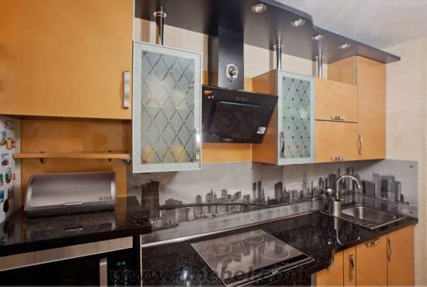 рамочные стекла для кухонных фасадов