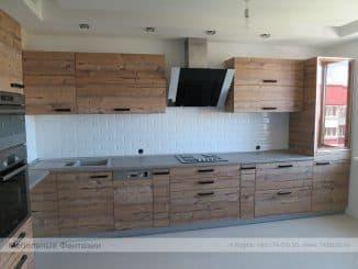 кухни с крашенными фасадами из древесно-стружечных плит