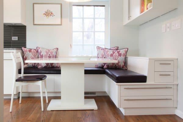 модульной кухонный диван с ящиком для хранения