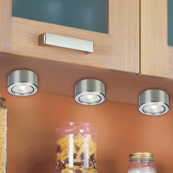 накладной галогенный точечный светильник для кухни