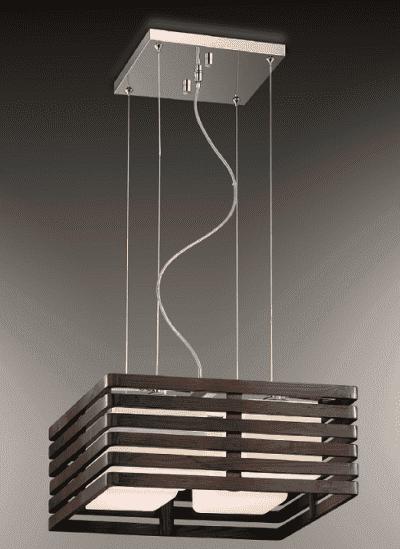 подвесная люстра в японском стиле на кухню